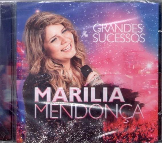 Cd Marília Mendonça - 25 Grandes Sucessos (original Lacrado)