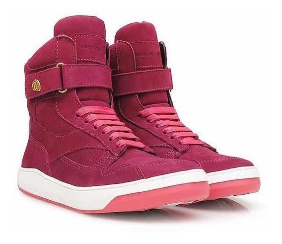 Tênis Sneaker Hardcore Footwear Couro/botinha Treino Fitness