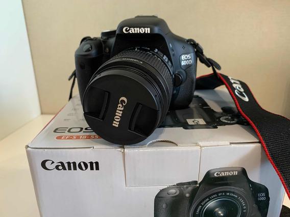 Canon T3i + Lente 18-55mm + Case+ Bateria Extra + Controle