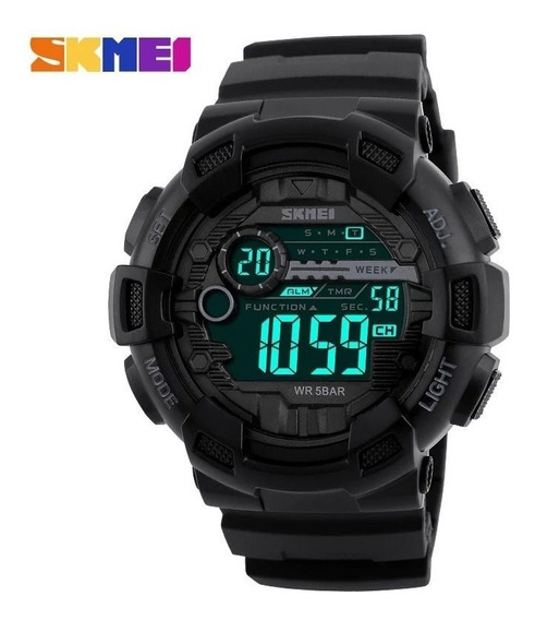 Relógio Masculino Esportivo Skmei 1243 Resistente Água - Pronta Entrega
