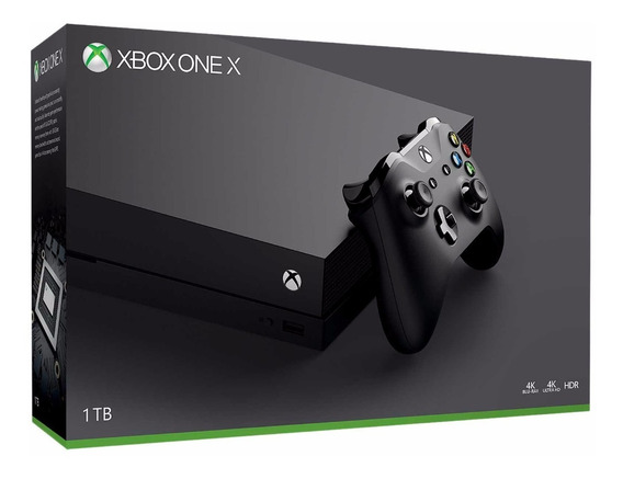 Consola Microsoft Xbox One X Hdmi 1 Tb Nuevo A Meses /u