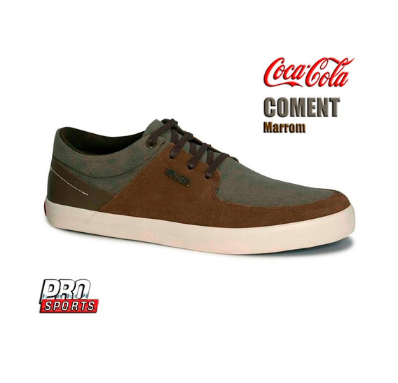 Coca Cola Tênis Coment Marrom - Original - Ez