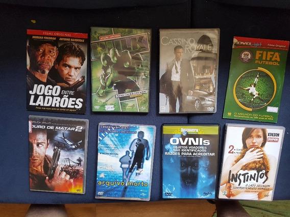 Lote Com 8 Dvds Originais - 8 Filmes !!