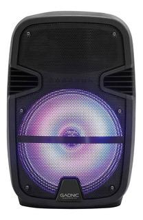 Parlante Gadnic XBS12 portátil inalámbrico Negro