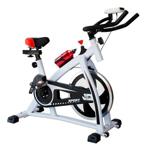 Bicicleta Spinning Ajustable Pantalla Cardio 6kg Mrclick