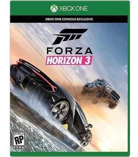 Jogo Corrida Português Mídia Física Forza Horizon 3 Xbox One