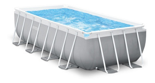 Piscina Rectangular Intex 26776 400x200x100, Acuarela