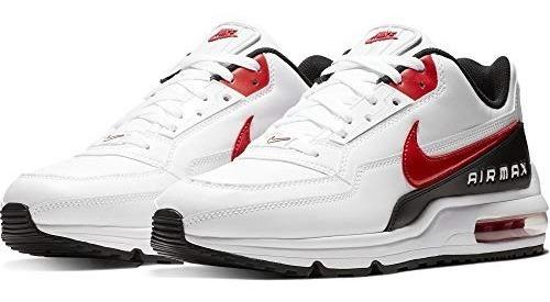 Tênis Nike Air Max Ltd 3 Branco E Vermelho Original