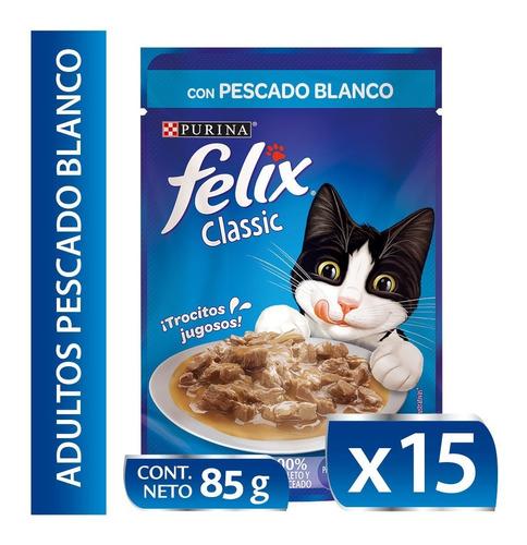 Pack Felix® Classic Pescado Blanco 85g