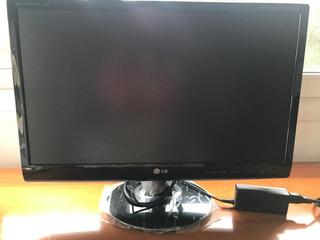 Tv LG Flatron Led Full Hd 23 Hdmi Rgb Antena Cable In