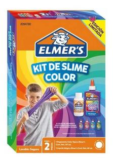 Slime Kit Color Azul