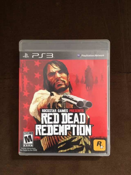 Red Dead Redempition Ps3 Mídia Física
