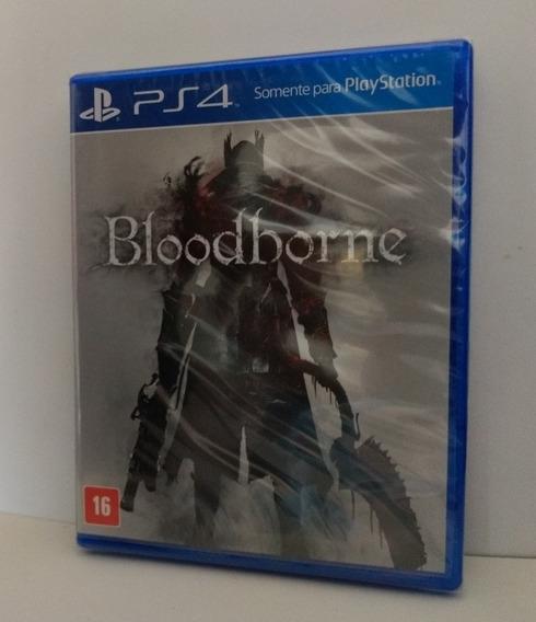 Bloodborne Ps4 Mídia Física Lacrado
