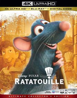 4k Ultra Hd + Blu-ray Ratatouille