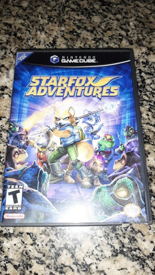 Starfox Adventures Gamecube Original Americano