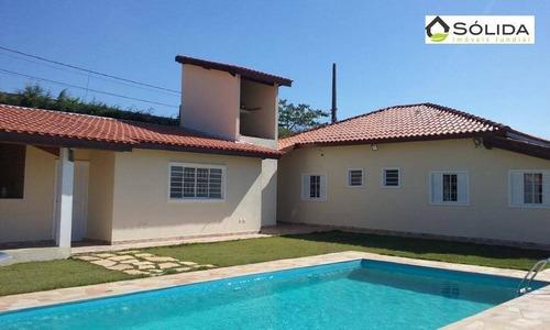 Chácara Com 3 Dormitórios À Venda, 1540 M² Por R$ 820.000,00 - Alvorada - Jarinu/sp - Ch0014