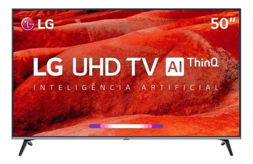 """Smart TV LG AI ThinQ 50UM751C0SB LED 4K 50"""""""