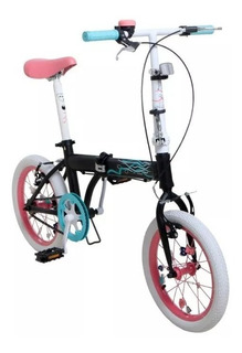 Bicicleta Plegable Bia Disney Original Andi-car