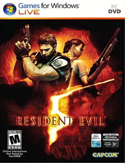 Resident Evil 5 Pc - Steam Key (envio Rápido)