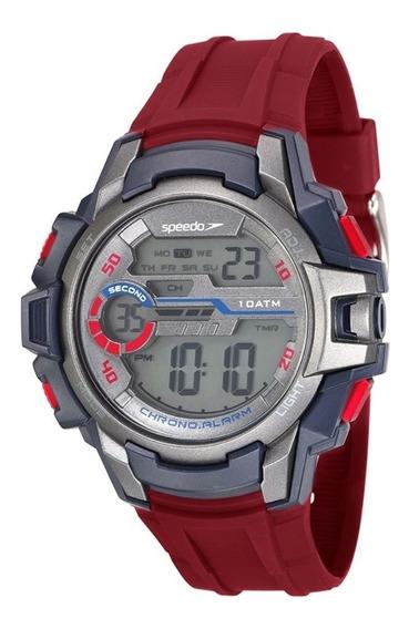 Relógio Masculino Speedo Esportivo Digital 100 Metros 65090g
