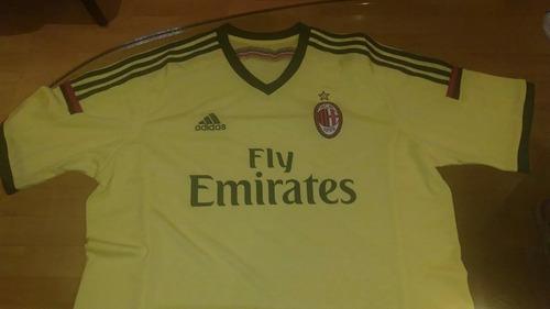 Camisa Ac Milan - 2014 - Tamanho Gg