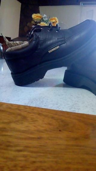 Zapatos De Niños Titanitos Núm 27 Todo Cuero