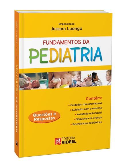 Livro Fundamentos Da Pediatria Questões E Respostas