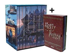 Box Harry Potter (7 Livros) + Box Guia Cinematográfico