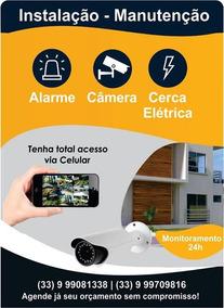 Instalação E Manutenção De Alarme E Câmeras De Segurança
