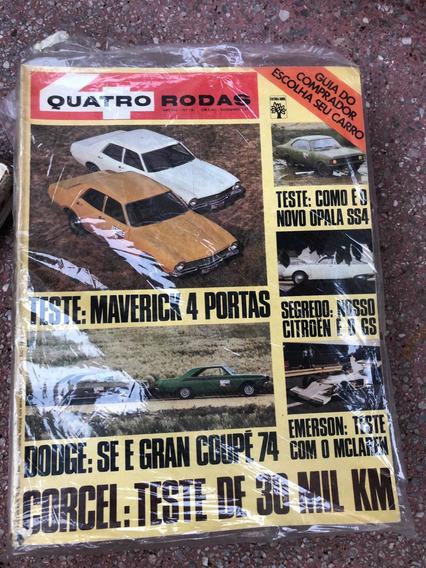 Quatro Rodas 161 Dodge Se Gran Coupé Maverick Corcel Dez 73