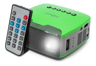 Mini-proyector Portatil Con Entradas Hdmi Aux Sd Usb Aux