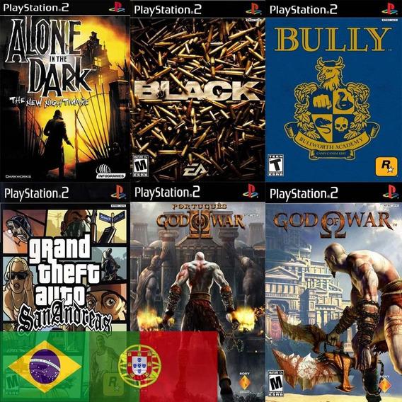 30 Jogos Playstation 2 Patch Ps2, A Escolha Frete Grátis
