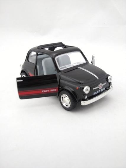 Miniatura Carrinho Fiat 500 Cinquecento Ano 1957 Escala 1/24