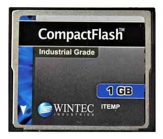 Memoria Compact Flash Industrial Wintec 1gb Cf