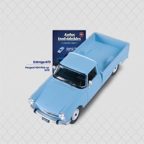 Peugeot 404 Pick Up (1979) - Autos Inolvidables N° 73