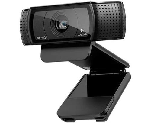 Imagen 1 de 3 de Camara Logitech Hd Pro Webcam C920 Full Hd 1080p 15mp