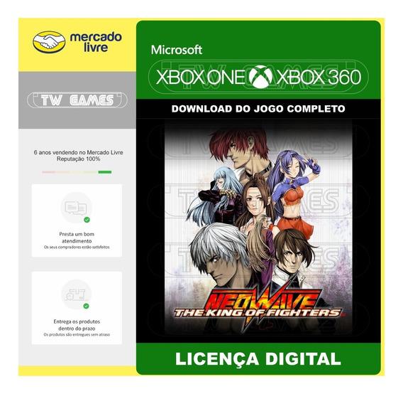 Kof Neowave Digital Retrocompativel Xbox One Xbox 360