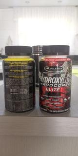 2 Termogenico Hidroxycut Hardcore Elite Muscletech