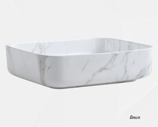 Lavabo Sobreponer Cerámico Mármol