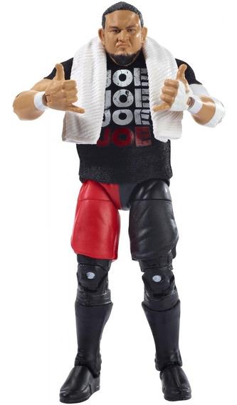 Wwe Elite - Samoa Joe - Figura De Accion Mattel