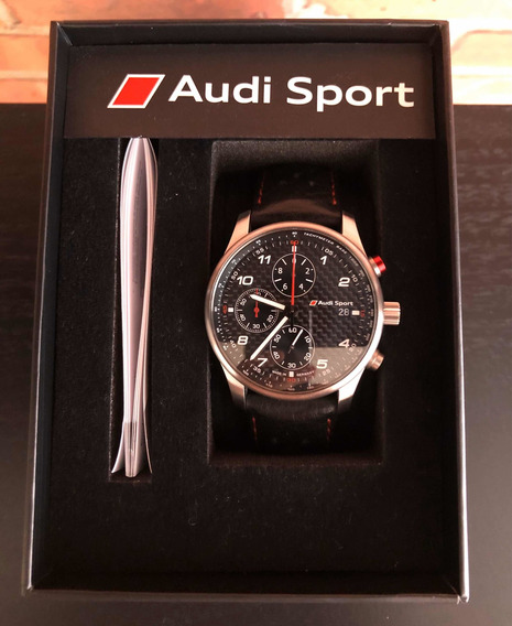 Relógio Audi Sport Carbono Genuíno