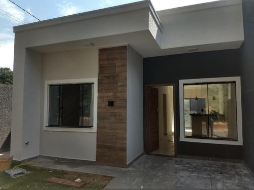 Casa Com 2 Dormitórios À Venda, 60 M² Por R$ 210.000,00 - Jardim Residencial São Roque - Foz Do Iguaçu/pr - Ca0069