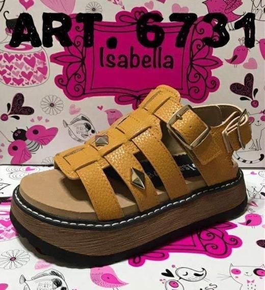 Sandalias De Niñas/nenas Maiz Art 6731 Talles Del 29 Al 35