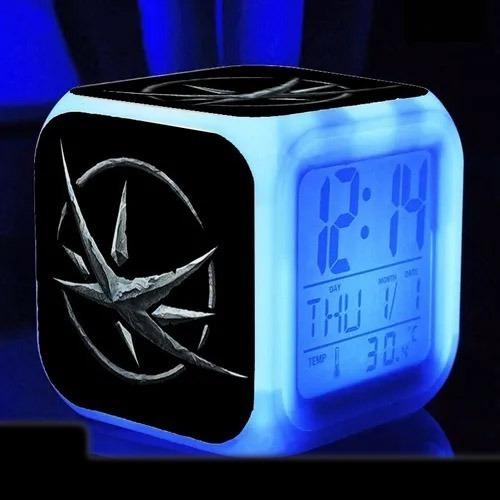 Reloj Led Alarma Despertador |  The Witcher | Zombear