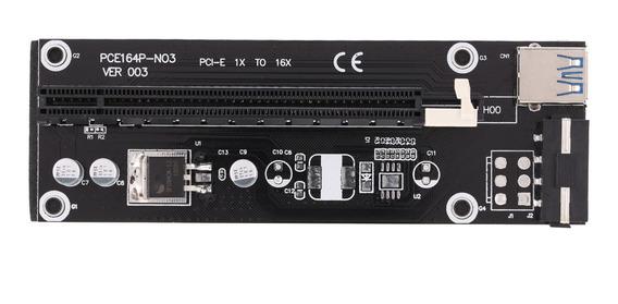 Usb 3.0 Pci-e Pci Express 1x A 16x Extender Riser Board
