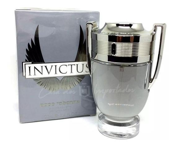 Perfume Paco Rabanne Invictus Masc Edt 100 Ml Lacrado Top