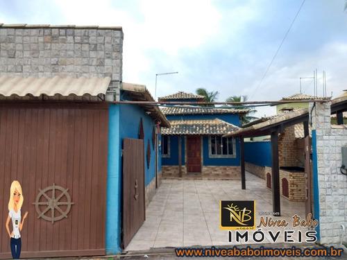 Imagem 1 de 23 de Casa Em Unamar Cabo Frio Casa Super Linda Em Unamar Cabo Frio Região Dos Lagos - Vcap 229 - 69541772
