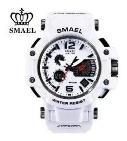 Smael Relógio Masculino 1509 - Branco