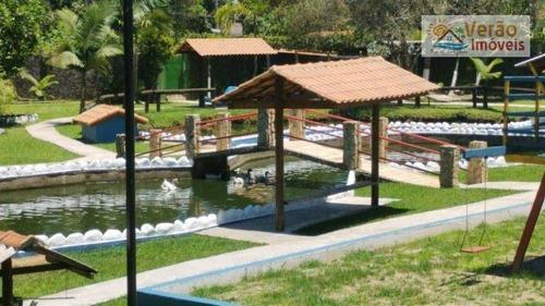 Chácara Com 8 Dormitórios À Venda, 5000 M² Por R$ 1.200.000,00 - Parque Real - Itanhaém/sp - Ch0021