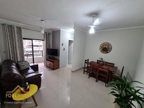 Imagem 1 de 17 de Apartamento Com 1 Dormitório À Venda, 64 M² Por R$ 240.000,00 - Vila Guilhermina - Praia Grande/sp - Ap2508